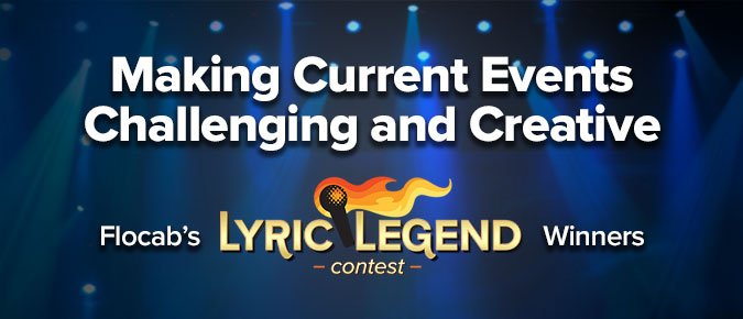 Making Current Events Challenging & Creative: Flocab's Lyric Legend Contest Winners
