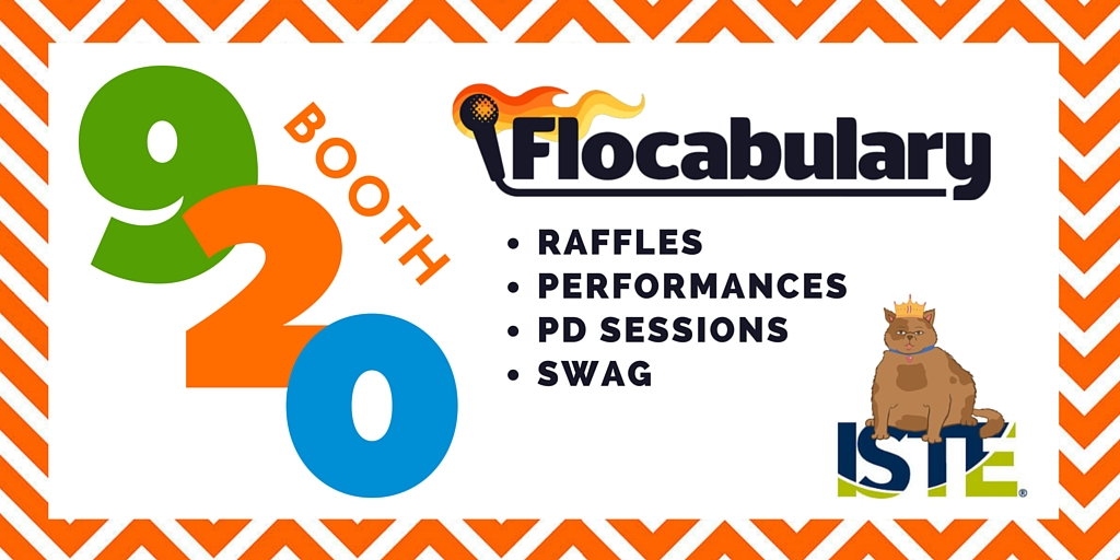 We're Heading To #ISTE2016! Here's What's Happening At The Flocab Booth…