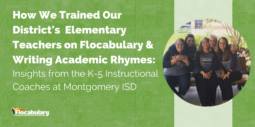 How We Trained Our District's Elementary Teachers On Flocabulary & Writing Academic Rhymes: