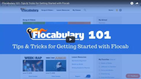 flocabulary 101 webinar, flocabulary training webinar
