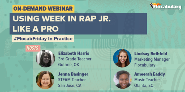 Interested to learn about Week in Rap, Flocabulary's weekly current events offering? The Week in Rap Jr. on-demand webinar covers different ways to implement, tips for cultivating meaningful conversations about the news and helps overcome challenges in the classroom.