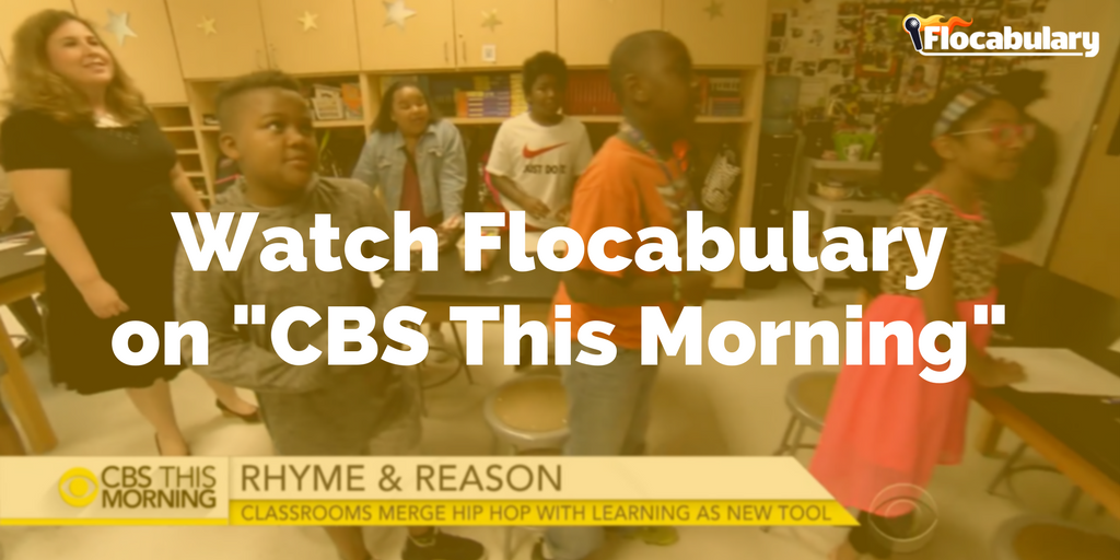 Watch Flocabulary On CBS This Morning