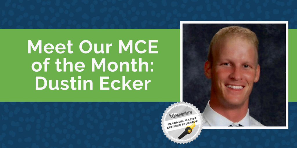 Meet Our MCE Of The Month: Dustin Ecker