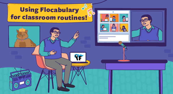 6 Ways To Use Flocabulary While Virtual Teaching!
